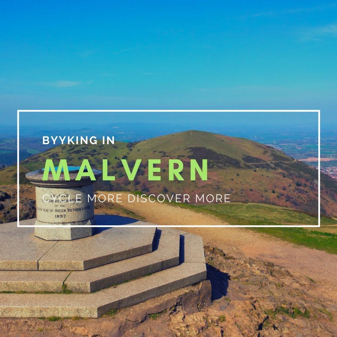 cycling in Malvern - byyker.com