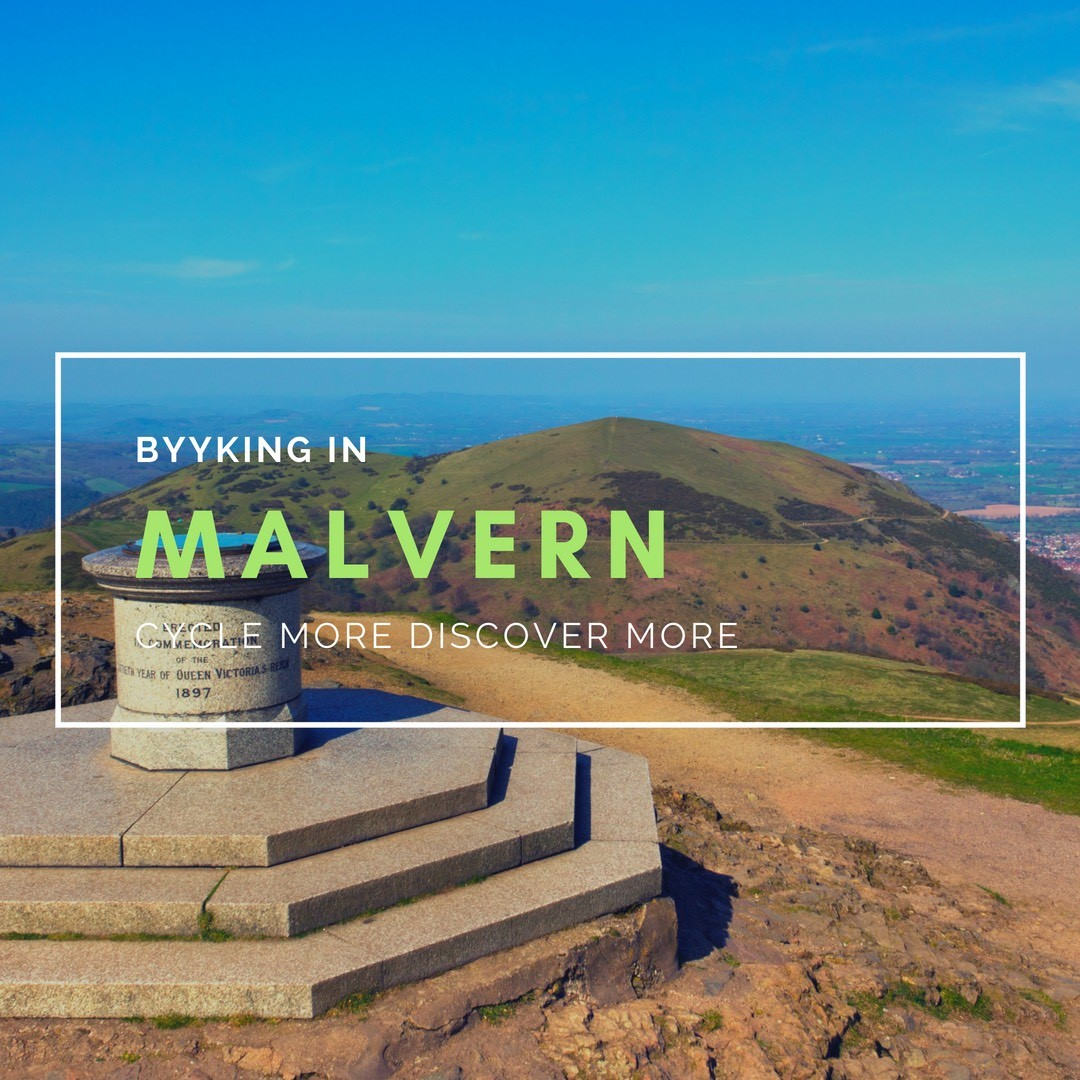 cycling in Malvern - byyker.com